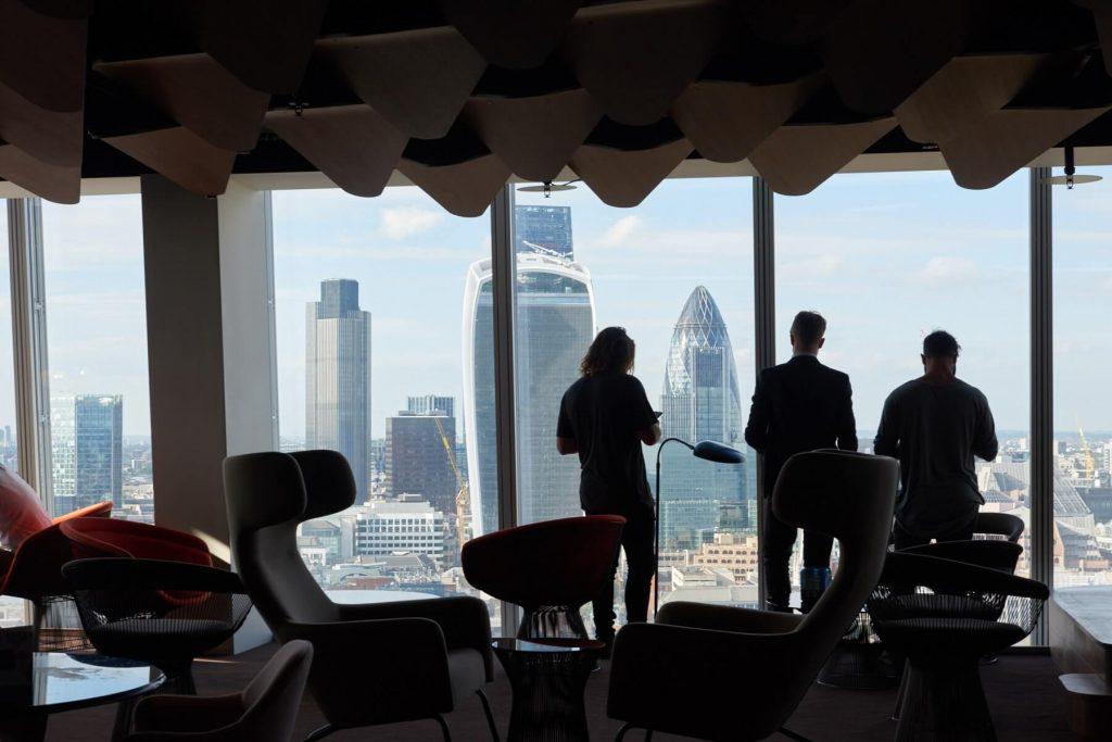 London Bridge Street Skyline Views