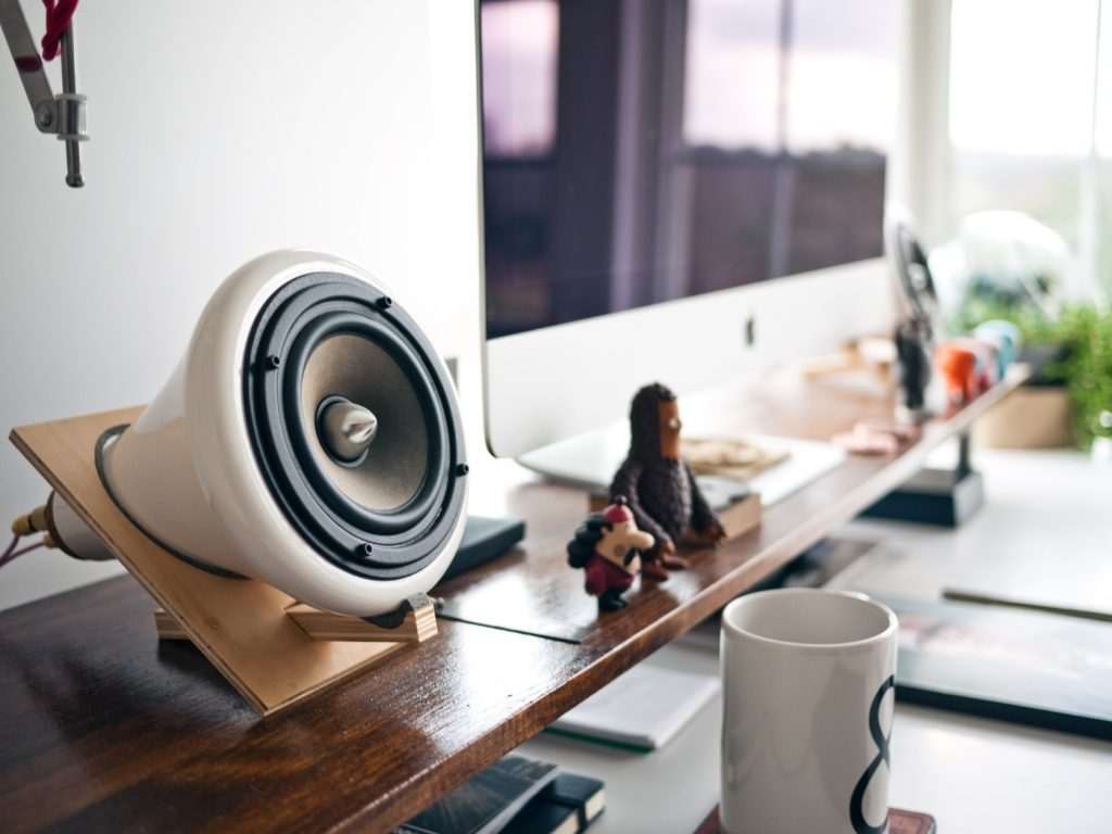 Speaker Music in the Workspace