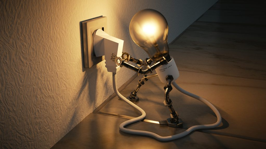 Energy Saving Personified Bulb
