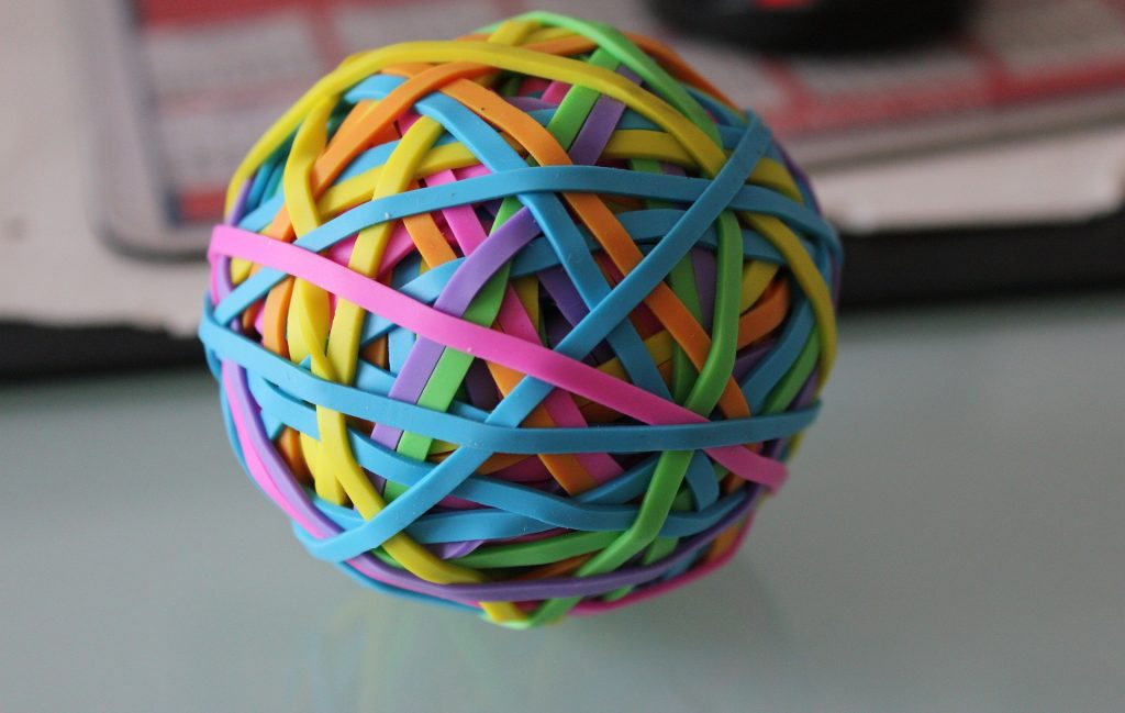 Flexibility Elastic Band Ball