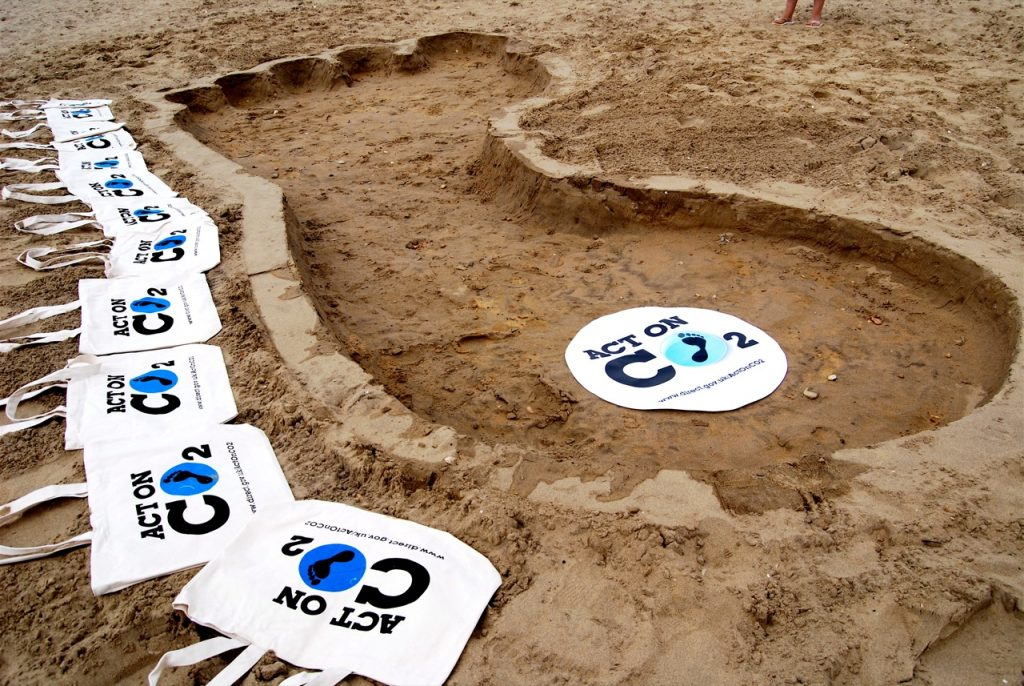 Carbon Footprint in the Sand Act on CO2