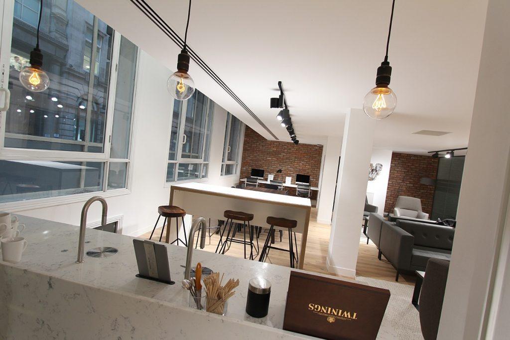 BE Offices Threadneedle Street Kitchen